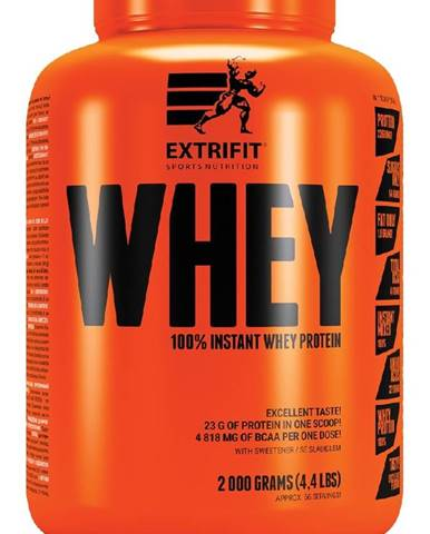 100% Instant Whey Protein - Extrifit 2000 g Banán