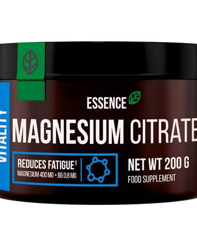 Magnesium Citrate - Essence Nutrition 200 g Natural