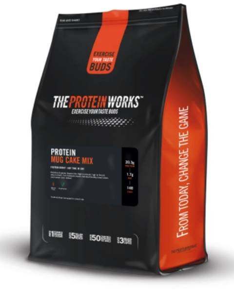 The Protein Works TPW Protein Mug Cake Mix 500 g sticky toffee pudding