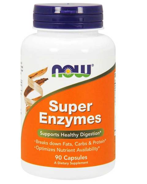 NOW Foods NOW foods Super Enzymes 90 kaps.