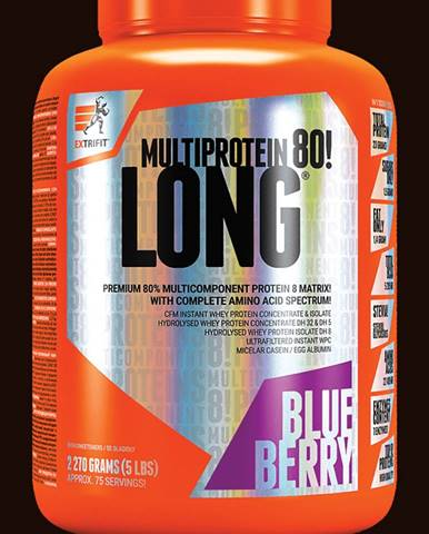 Extrifit Long 80 Multiprotein 2270 g blueberry
