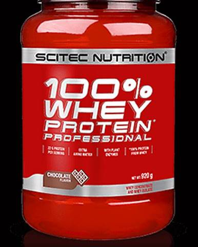 Scitec Nutrition 100% Whey Protein Professional 920 g strawberry