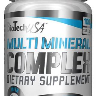 Multimineral Complex - Biotech USA 100 tbl