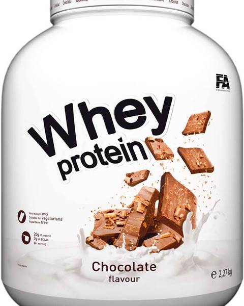 Fitness Authority Fitness Authority Whey Protein 2270 g variant: banán