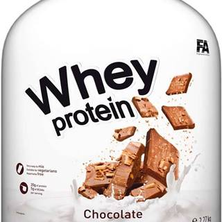 Fitness Authority Whey Protein 2270 g variant: banán